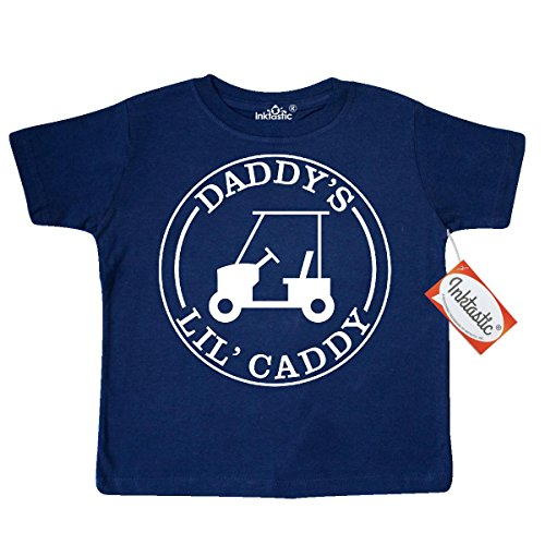 inktastic-little-boys-daddys-lil-caddy-toddler-t-shirt-2t-navy-blue