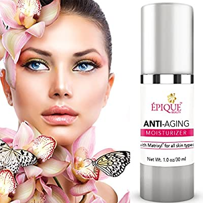 Anti Aging Moisturizer Cream - 60 Off - Best Anti Wrinkle Cream And Treatment - Anti Aging Face Cream With Matrixyl Pentapeptide Shea Butter Green Tea Extract - Premium Anti Wrinkle Creams Formula - Reduce Wrinkles Fine Lines Brighten And Tighten The Skin