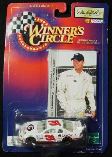 Dale Earnhardt Jr #31 Monte Carlo 1997 Gargoyles 1/64 Scale & Photo Card Insert Winners Circle Hasbro 1998 Edition - 1