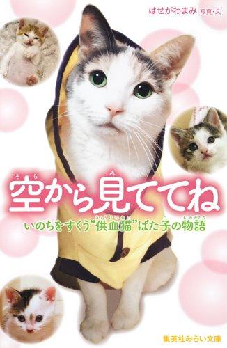 """空から見ててね いのちをすくう""""供血猫""""ばた子の物語 (集英社みらい文庫)"""