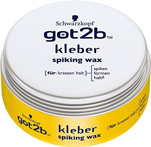 Schwarzkopf got2be Kleber Spiking Wax 75 ml (Got2be Wax compare prices)