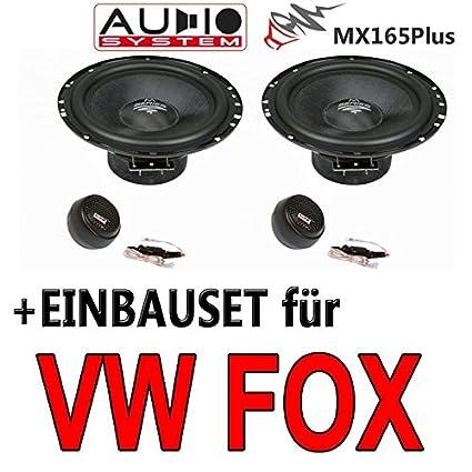 VW fox mX165-audio-haut-parleurs-avec 16 cm