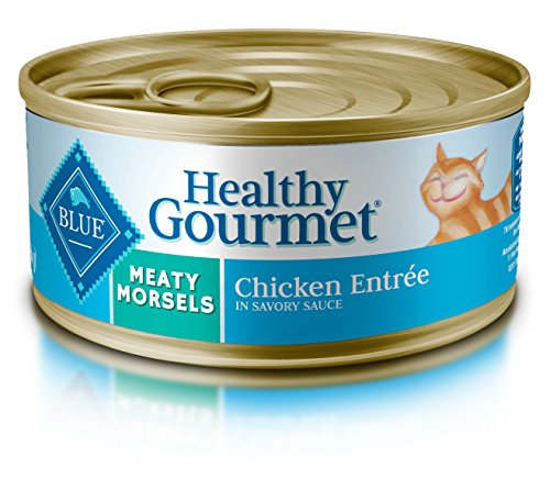 Blue Buffalo Meaty Morsels Chicken Wet Cat Food, 5.5 oz Can, Pack of 24 (Blue Buffalo Canned Cat compare prices)