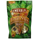 Emerald Breakfast Blend Premium Trail Mix, 5.5-Ounce Pouches (Pack of 6) by Emerald
