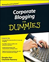 Corporate Blogging For Dummies ebook download