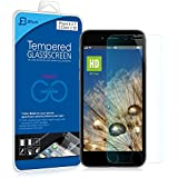 iPhone 6 Screen Protector, JETech® Premium Tempered Glass Screen Protector for for Apple iPhone 6 and iPhone 6s Newest Model 4.7