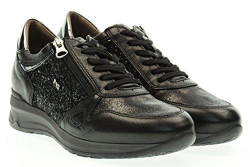 NERO GIARDINI donna sneakers basse A616050D/100 37 Nero
