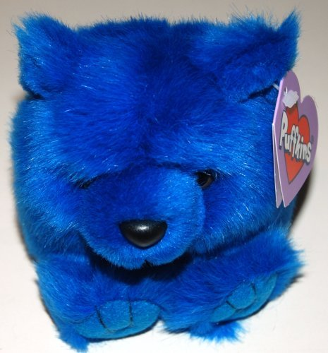 Puffkins Plush, Skylar the Blue Bear