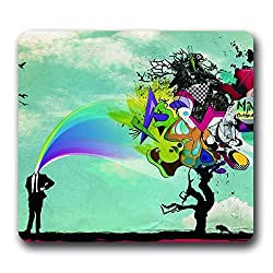 Tree of Life Gorgeous Neoprene Water Resistant Mouse Pad,10*9inch Non-slip Art Mouse Pads