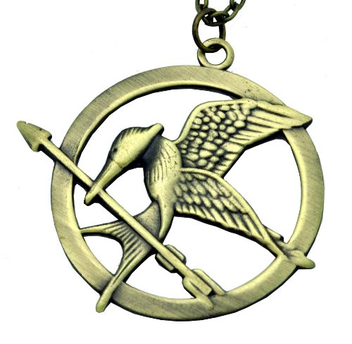 Mockyingjay Necklace Copper Finishing Chain, Mockingjay Necklace, Mocking Jay Necklace