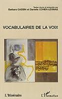 Vocabulaires de la voix