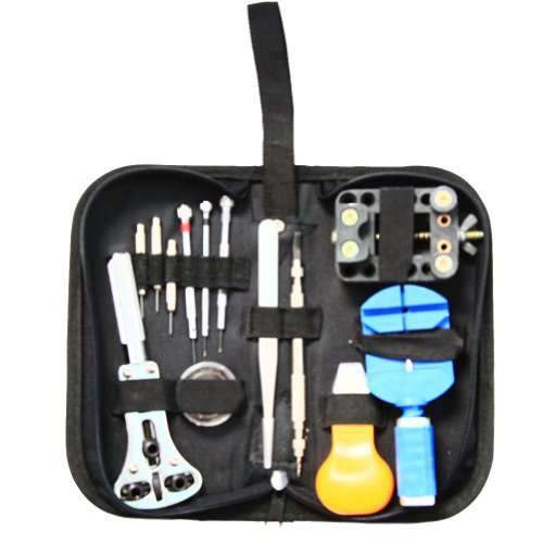 AUBIG 13 in 1 Watch Repair Tool Kit Portable