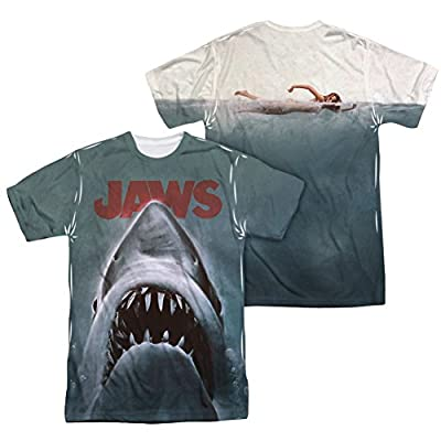 Jaws Poster All Over Print Front / Back T-Shirt