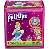 Pull-Ups Training Pants Night Time for Girls, Size 2T-3T, 50 Count (Pack of 2)