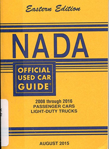 NADA Used Car Values