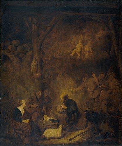 Oil Painting 'Cuyp Benjamin Gerritsz (Workshop) La Adoracion De Los Pastores Ca. 1647', 10 x 12 inch / 25 x 30 cm , on High Definition HD canvas prints, Bath Room, Bed Room And Home Theater Decoration (Call Of Mini Mini Ca compare prices)