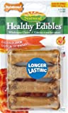 Nylabone Healthy Edible Bacon Bone for Pets, Petite, 8 Count Blister Pack