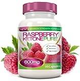 Raspberry Ketone Pur 600mg origine cétones de framboise - Max Strengh - 60 caps de qualité supérieure