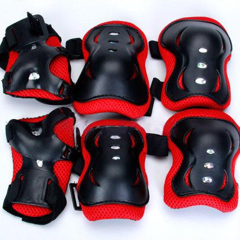 Littletiger Knee Elbow Wrist Protective Guard Pad Kid Child Skating Inline Gear front-438900