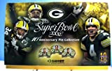 Green Bay Packers Super Bowl XXXI 10th Anniversary Pin Collection Amazon.com