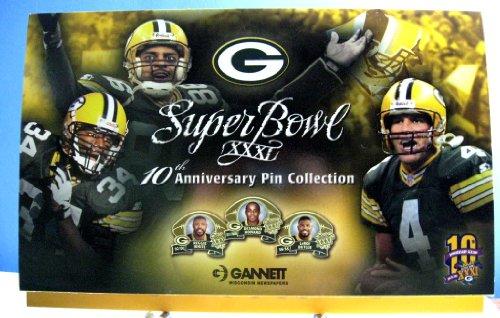 Super Bowl XXXI 10th Anniversary Pin Collection