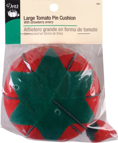 Why Choose Dritz(R) Tomato Pin Cushion - Large 4 Inch