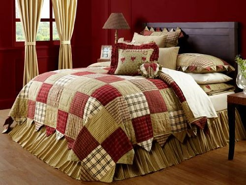 """Heartland 70X90"""" Twin Quilt front-1049101"""