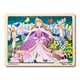 Melissa & Doug Woodland Princess Jigsaw - 24 Piece