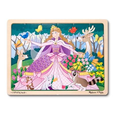 Melissa & Doug Woodland Princess Jigsaw Puzzle 24pc