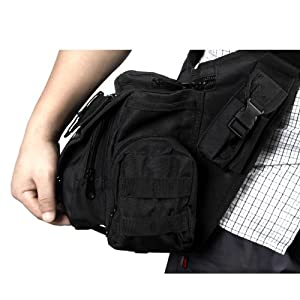 Molle Tactical Shoulder Strap Bag Pouch Backpack 115