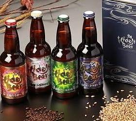 宮崎発 地ビール!ひでじビール 飲み比べ 4本 お中元ギフト セット(クール代金込み)