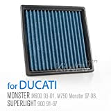 Magazi Air Filter for Ducati M600 Monster, 750SS, 600SS, 750 PASO, M750, 900, 900SS, Monster 900, M 900
