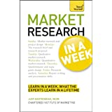 Teach Yourself Successful Market Research in a Weekby Judy Bartkowiak