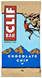 Clif Bar Energy Bar, Chocolate Chip, 2.4-ounce Bars, (Pack of 12 Energy Bars)