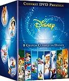 echange, troc Coffret Grands Classiques Disney - Exclusivité Amazon.fr (Bambi, Pinocchio, Bernard et Bianca, Dumbo, Les Aristochats, Merlin