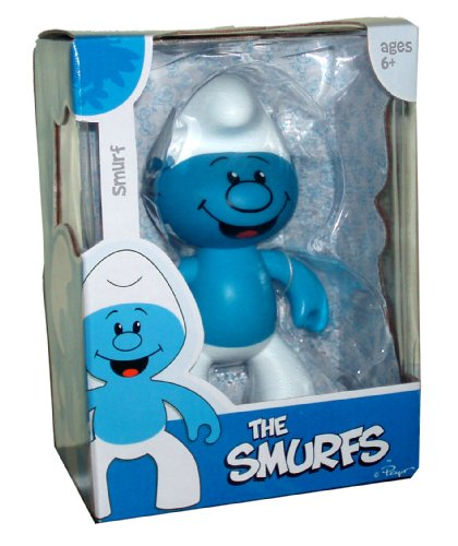 Picture of Jakks Pacific The Smurfs Cartoon Series 7 Inch Tall Smurf Figure (B0035ZDPMC) (Jakks Pacific Action Figures)