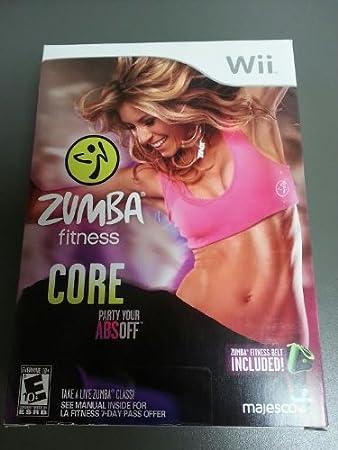 Zumba Fitness Core with Zumba Fitness Belt