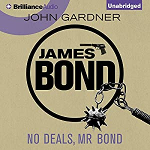 No Deals, Mr. Bond Audiobook