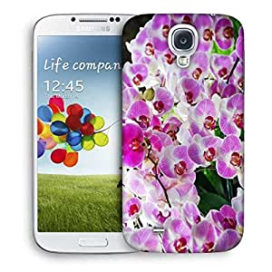 Snoogg Shoo Flower Printed Protective Phone Back Case Cover For Samsung S4 / S IIII