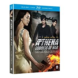 Athena Goddess of War Movie (Blu-ray/DVD Combo)