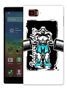 "Body Goals Printed Designer Mobile Back Cover For ""Lenovo Vibe Z2 Pro K920"" By Humor Gang (3D, Matte Finish, Premium Quality, Protective Snap On Slim Hard Phone Case, Multi Color)"