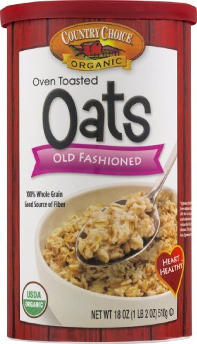 Country Choice Organic Oven Toasted Oats Old Fashioned (Oven Toasted Oats compare prices)