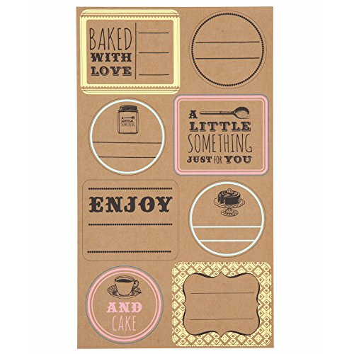Bake Sale Sticky Labels Cake Decorates, Set of 48 (Bake Stickers compare prices)