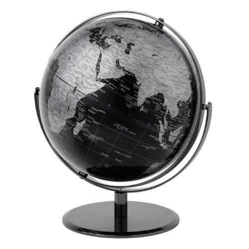 Globe Collection - Globo terráqueo (30 cm), color negro