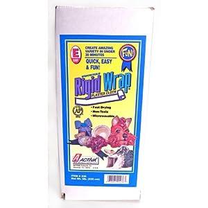 Activa Rigid Wrap Plaster Cloth, 5-Pound