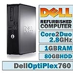 Dell OptiPlex 760 DT/Core 2 Duo E7400...