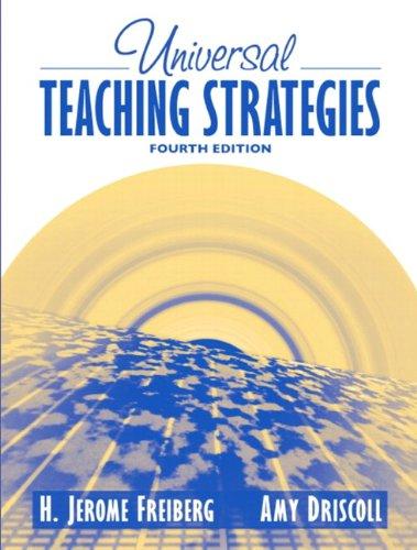 Universal Teaching Strategies (4th Edition)