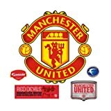 Manchester United Crest Wall Decal