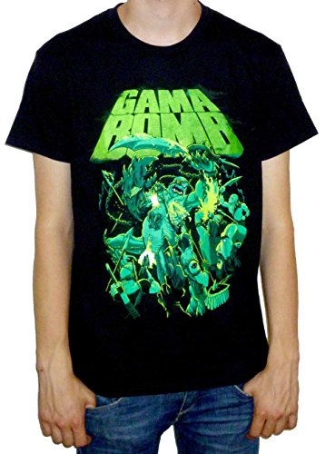 Gama Bomb T-shirt (Atlantis) black Large