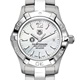 TAG HEUER watch:Cornell University TAG Heuer Watch - Women's Steel Aquaracer with Mother of Pearl Dial at M.LaHart